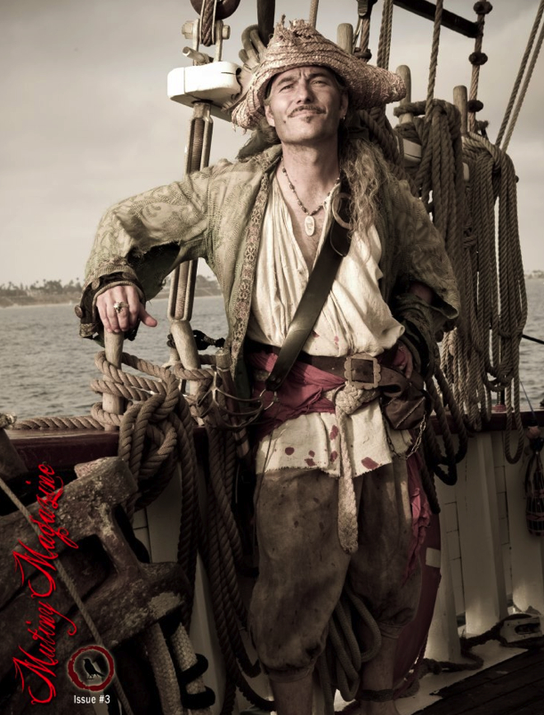 Pirate Louie Lambe Mutiny Magazine