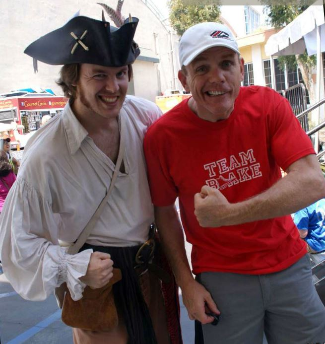 Matthew Hunt, Mutiny Magazine Editor and comedian Chris Titus