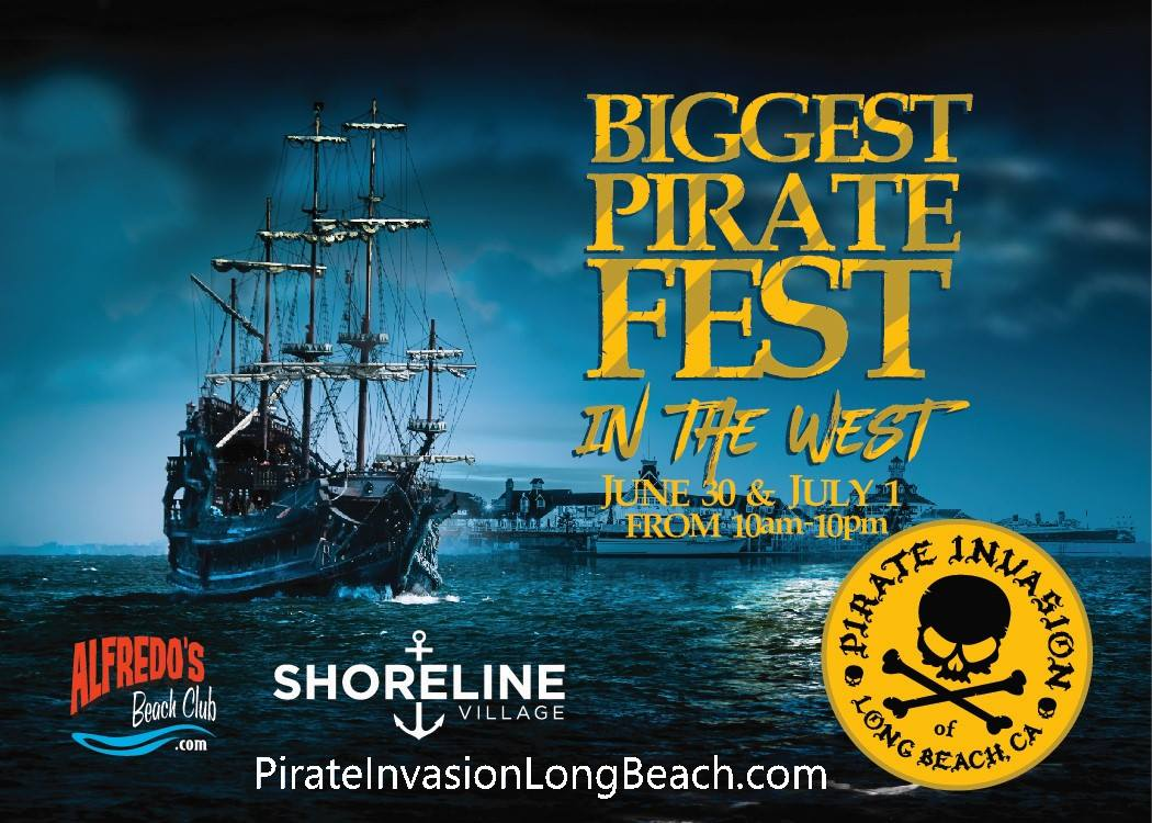 biggest pirate invasion long beach