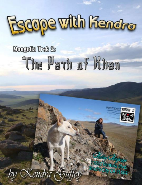 escapewKendra Pathof Khan Mongolia