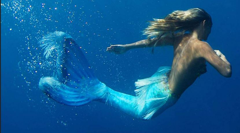 Swimming with Mermaid Hannah
